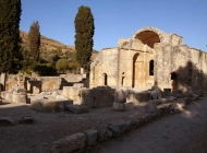 The archaeological site of Gortyn (or Gortys)