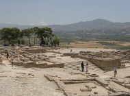 The archaeological site of Phaistos